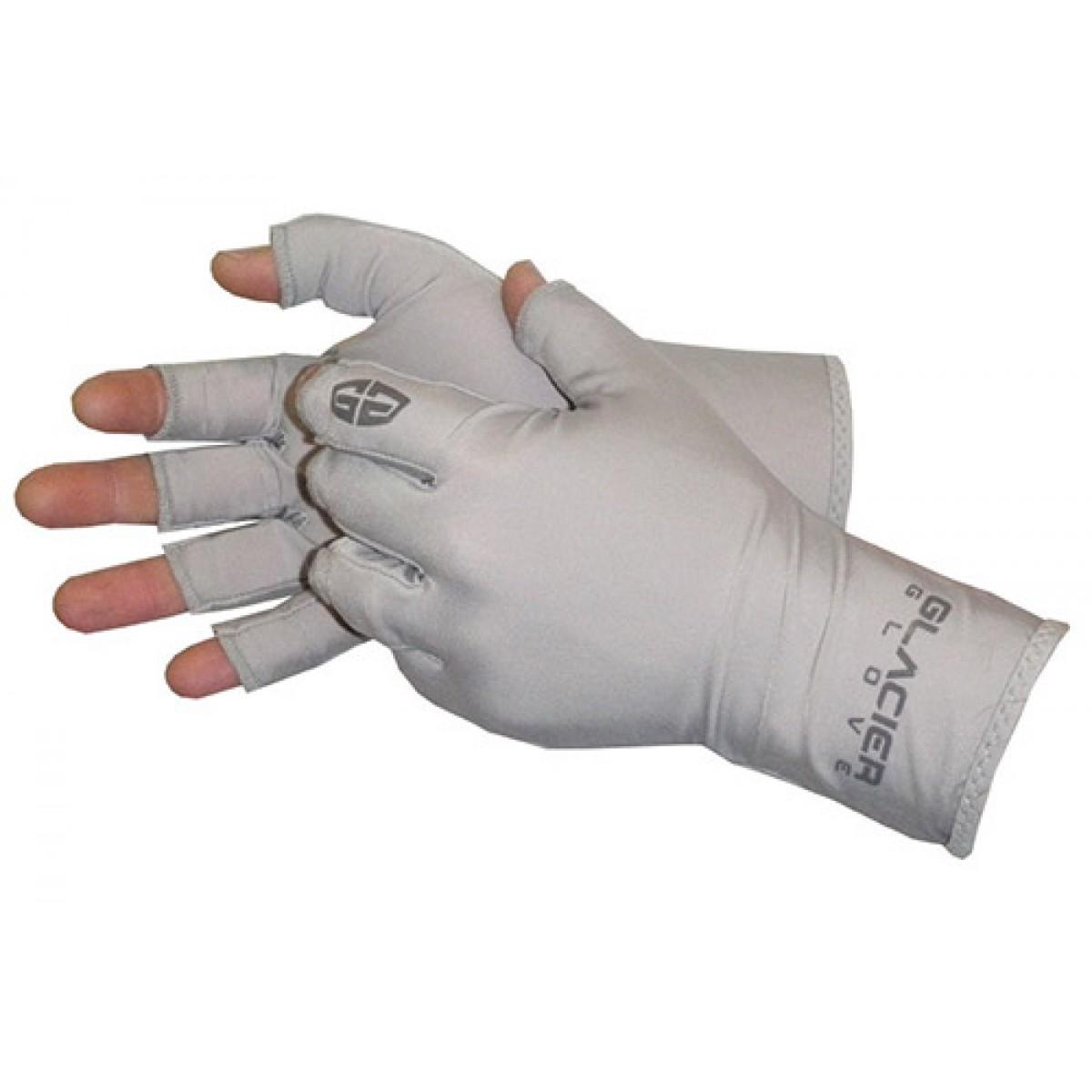 Glacier glove abaco bay sun gloves for Fishing sun gloves