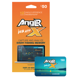 Anglr Xperience App 1 Year Membership Gift Card