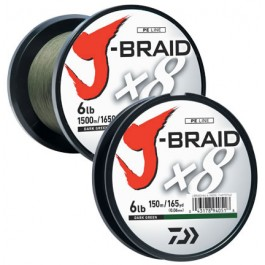 Daiwa J-Braid X8 Braided Line