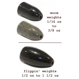 Eco Tungsten Weights