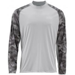 Simms Solarflex LS Crewneck Print Shirt