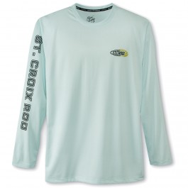 St. Croix Men's Native Outfitters Long Sleeve Performance T-Shirt