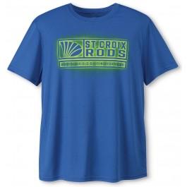 St. Croix Spray Logo Performance Moisture Wicking T-Shirt