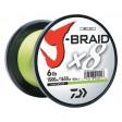 Daiwa J-Braid X8 Braided Line - Chartreuse