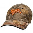 G Loomis Hats and Visors - Flex Cap Camo - Orange