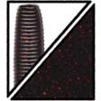 Yamamoto Kreature 4 Inch - 051-black w small red