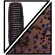 Yamamoto Kreature 4 Inch - 221-cinnamon brown w lg black & lg purple