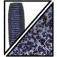Yamamoto Single Tail Grub 4 and 5 - 157_smoke w lg black & purple