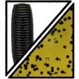 Yamamoto Kut Tail Worm 4 inch - 194_Watermelon w lg black