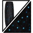 Yamamoto Senko 4 inch - 021_Black w lg blue
