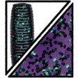 Yamamoto Swimming Senko - purple w/ emerald flake (213)