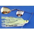 Revenge Deep Runner CC Spinnerbait - white chartreuse (wc-ng-4)