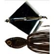 Picasso Dinn-R-Bell Single Blade Buzzbait - Black