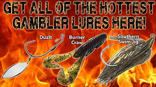 Get the hottest Gambler lures here!