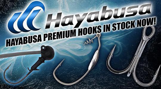 Hayabusa Premium Hooks are in stock now!
