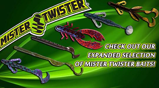 We have expanded our selection of Mister Twister products