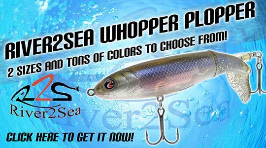 River2Sea Whopper Plopper - Susquehanna Fishing Tackle