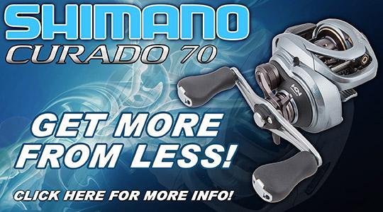 Shimano Curado 70 Baitcasting Reels Available Now