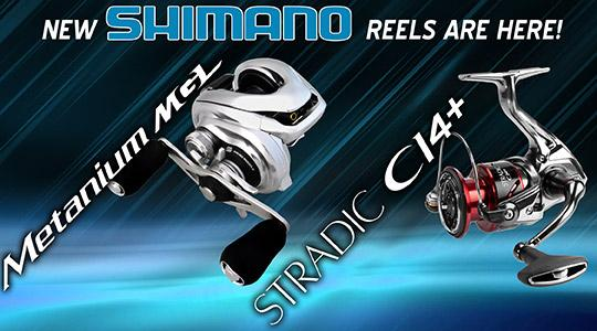 New Shimano Metanium MGL and Stradic Ci4 are here!