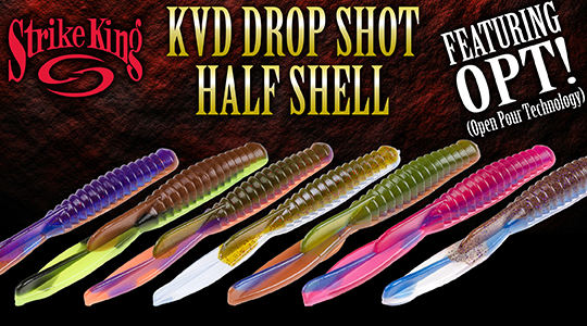 Strike King KVD Drop Shot Half Shell