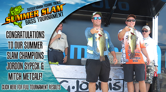 Summer Slam 2016 Bass Tournament Winners