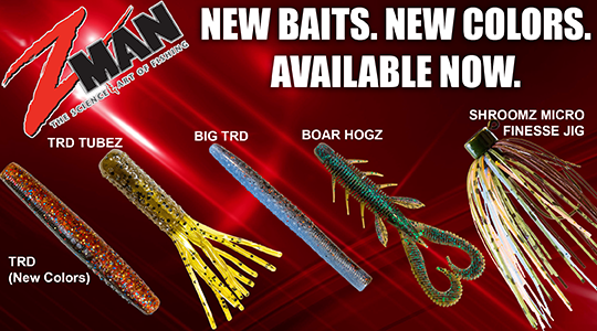 Z-Man new products and new colors