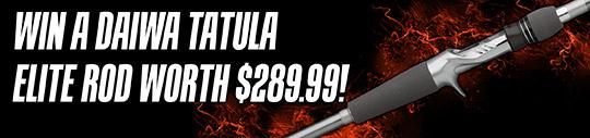 Daiwa Tatula Elite Rod giveaway