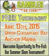 Gambler free fishing tournament