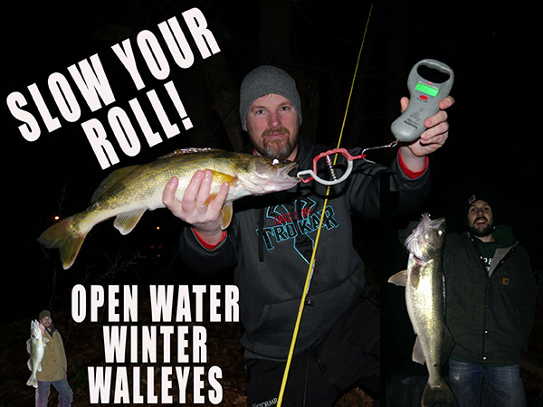 Night fishing for walleyes