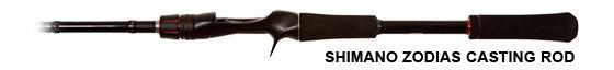 Shimano Zodias Casting Rod