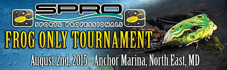 SPRO frog only bass tournament