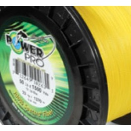 Power Pro Superline Yellow