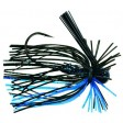 Tour Grade Finesse Football Jig - black blue flake (2)