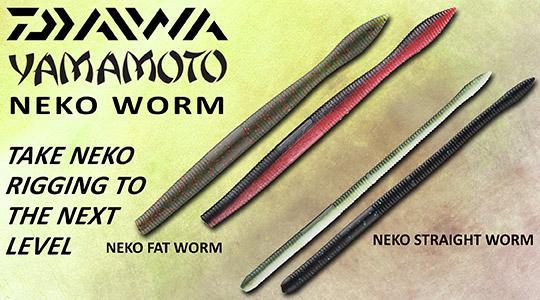 Daiwa Yamamoto Neko Worms