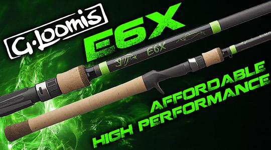 G Loomis 2018 E6X Rods Are In!