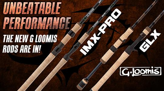 G Loomis IMX and GLX Rods