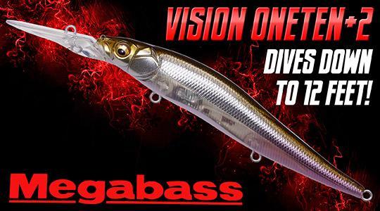 Megabass Vision OneTen + 2