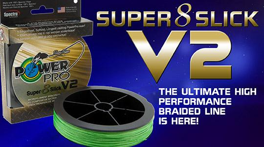PowerPro Super 8 Slick Braided Line at Susquehanna Fishing Tackle